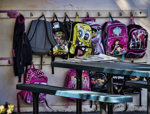 Kindergarten backpacks
