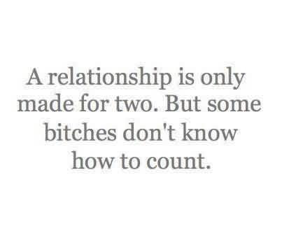 Funny Tumblr Quotes For Her A Relationship Is Only Made For Two
