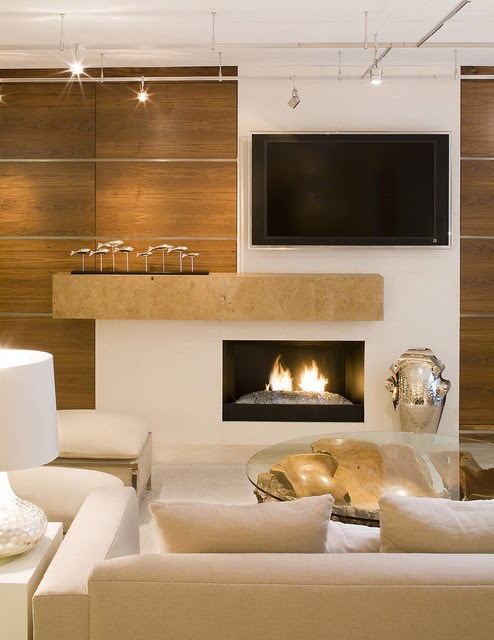 Warm Contemporary - contemporary - living room - jacksonville - by ...