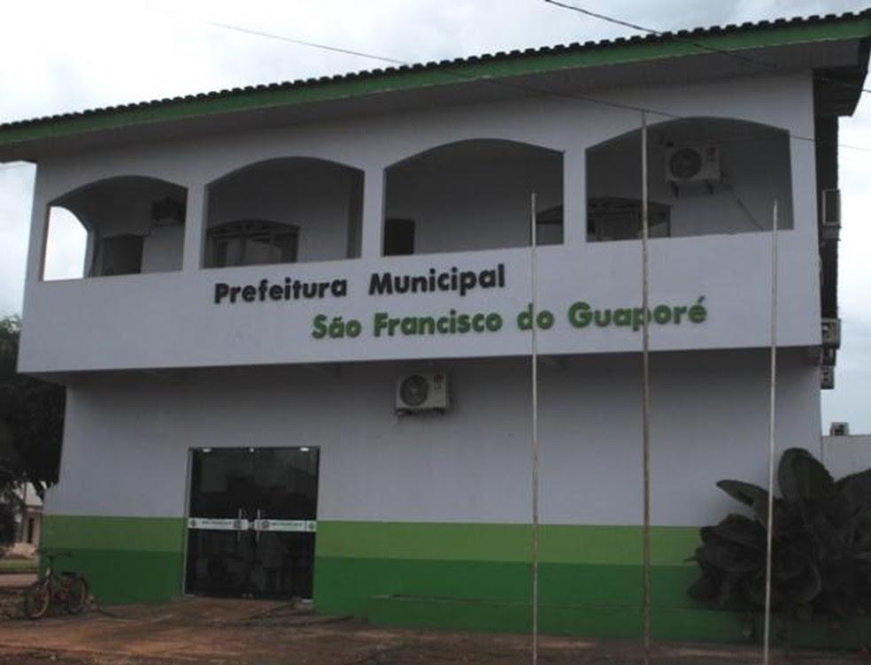 Prefeitura de São Francisco do Guaporé, RO (Foto: Prefeitura de São Francisco do Guaporé/Divulgação)