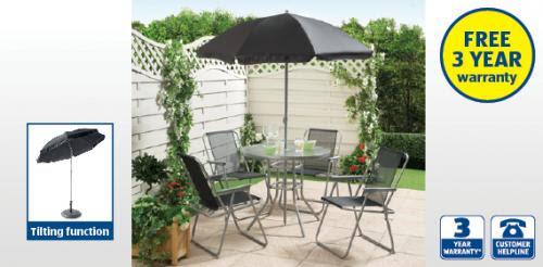 6 Piece Garden Patio Furniture Set £49.99 at Aldi (from ...