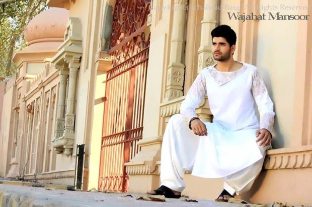 Wajahat-Mansoor-Latest-Summer-Eid-Kurta-Pajama-Salwar-Kameez-Collection-2013-Mens-Boys-1