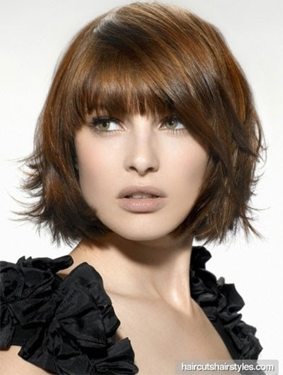 25 Short Bob  Haircut  Styles With Bangs  Layers  For Girls
