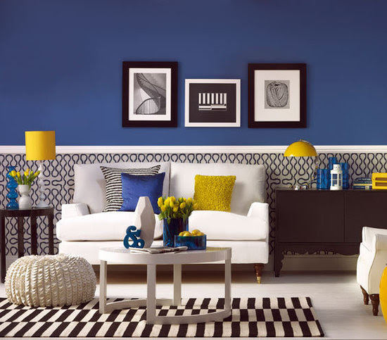 Have Fun with Blue and Yellow Rooms | AC Design & Development Corp.