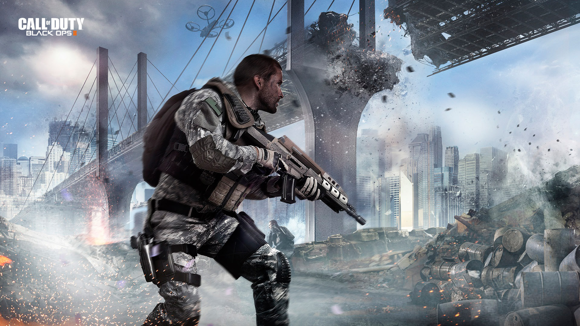 Call Of Duty Black Ops 2 Wallpaper 1