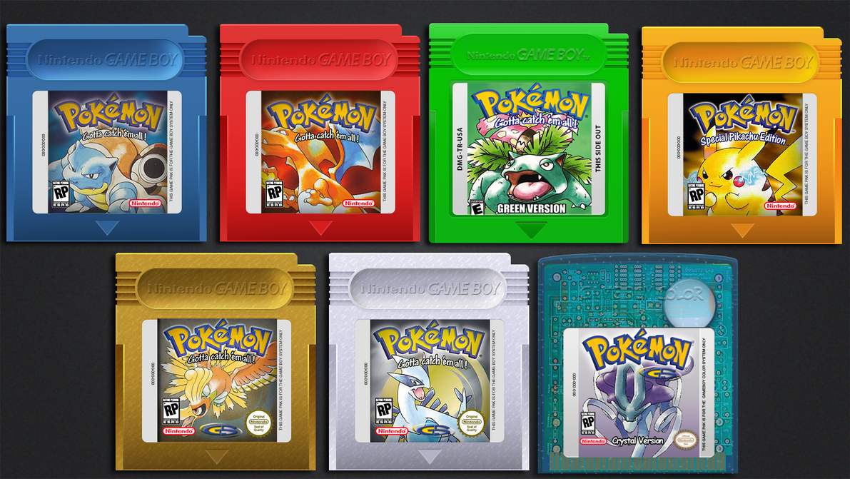 Pokemon Games by Vitalovitalo on DeviantArt