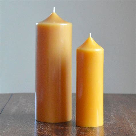 Beeswax Church Candles   Gold&Black Beeswax Candles