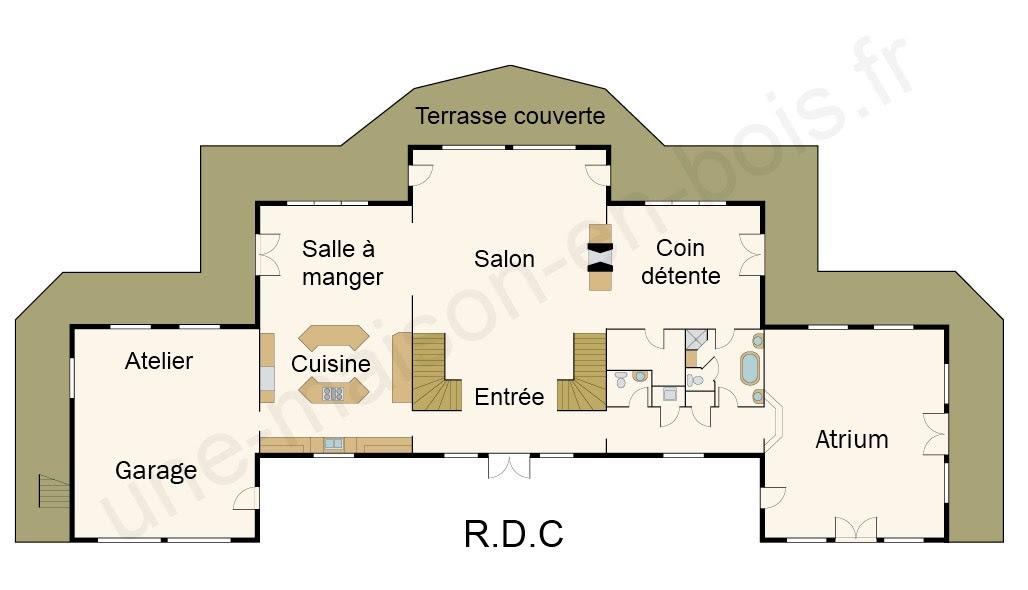 Design De Maison Minimaliste Maison Moderne De Luxe Plan