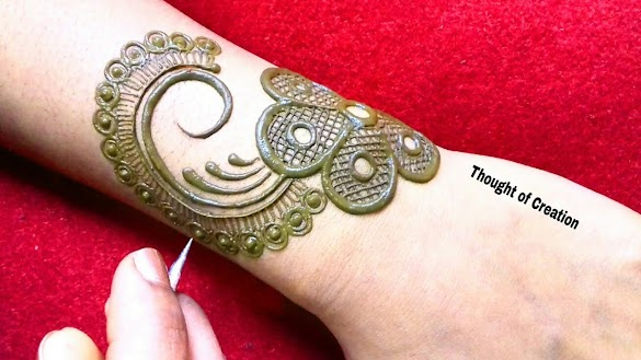 Fashionable Jewelry Mehndi Design 2019