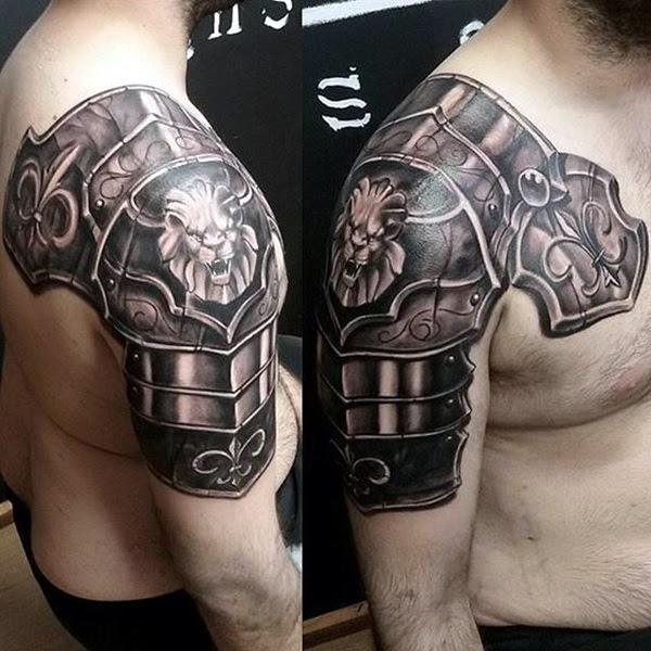 Valiant Gladiator Tattoo Designs (18)