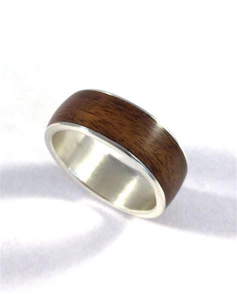 Mens Wedding Band, Wood Ring, Wood Wedding Band, Wooden