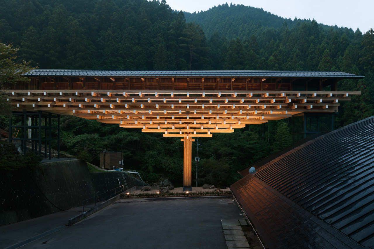Phối cảnh bảo tàng Cầu bằng gỗ Yusuhara