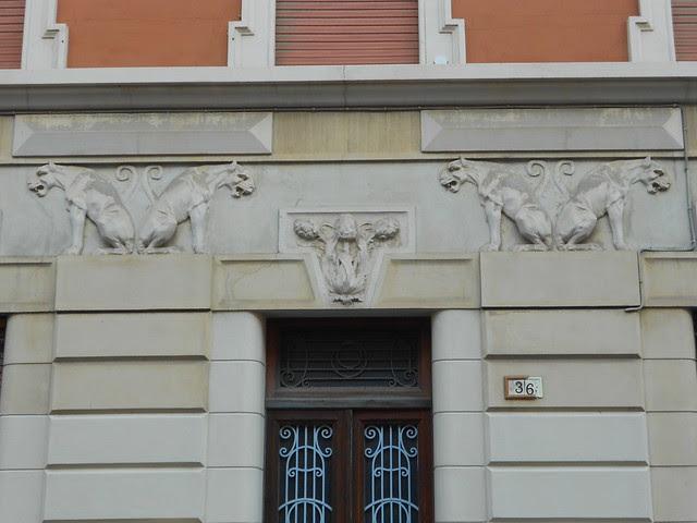 elementi decorativi di Virgilio Milani