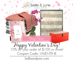 10% off Hundreds of Valentines Day  Gift Ideas. Shop www.belleandjune.com