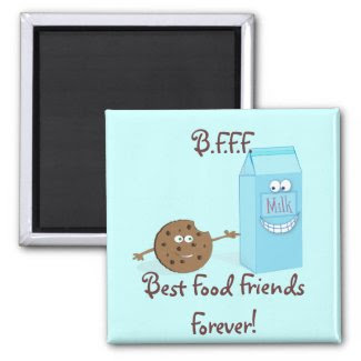 Best Food Friends Forever Magnet magnet