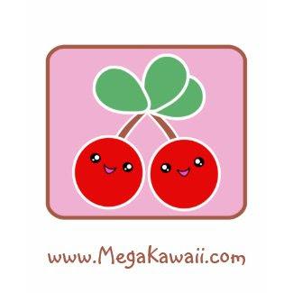 Mega Kawaii Cherries T-Shirt Promotional shirt