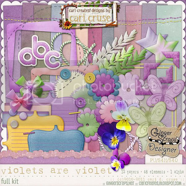 Violets Are Violet {the kit}