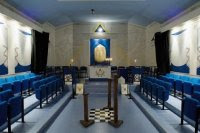Lodge Room, Temple, Masonic, Freemasons, Freemasonry, Freemason