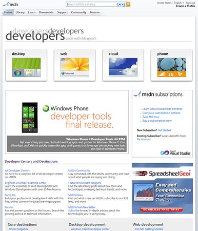 MSDN Site