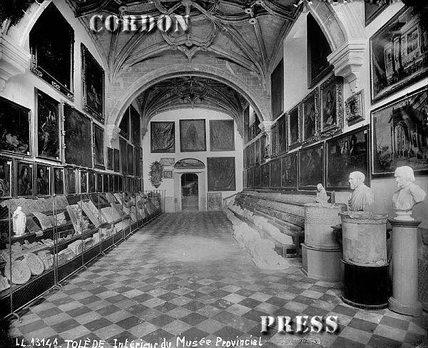 Museo Provincial de Toledo en San Juan de los Reyes hacia 1875-80. © Léon et Lévy / Cordon Press - Roger-Viollet
