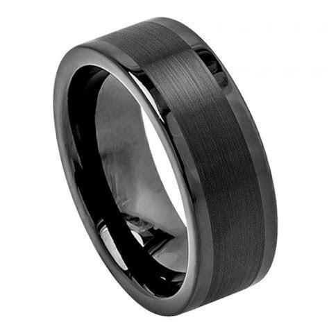 Tungsten Wedding Band, Men's Rings, Wedding Rings Mens