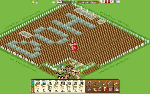 Farm Town facebook application