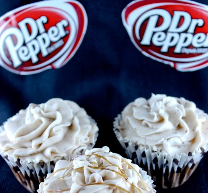 Dr. Pepper Cupcakes With Recipe Link