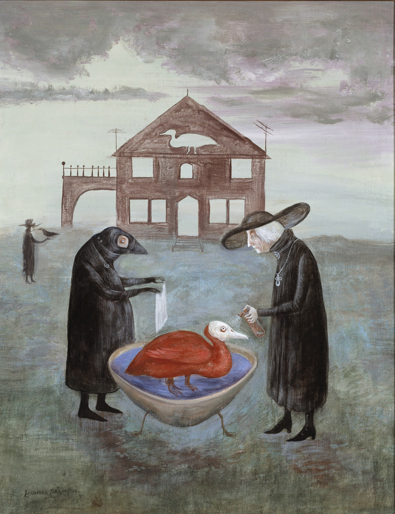Leonora Carrington - Bird Bath II, circa 1978