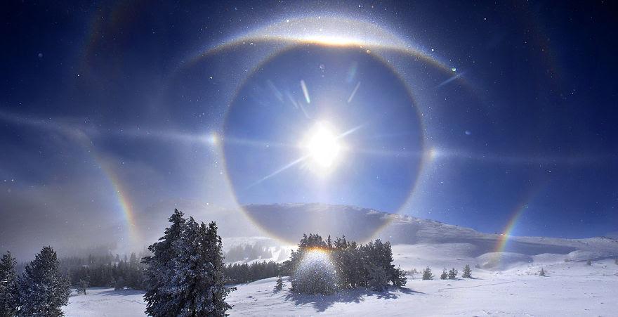 Sun Halo, Vitosha Mountain