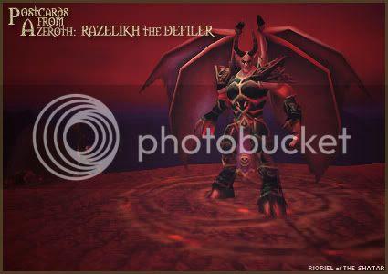 Postcards of Azeroth: Razelikh the Defiler