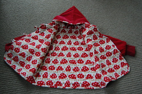 Red Sparrow Coat Lining