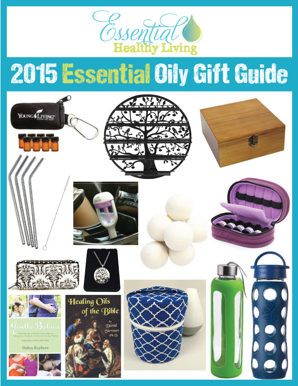 2015 Essential Oily Gift Guide with Young Living essential oils