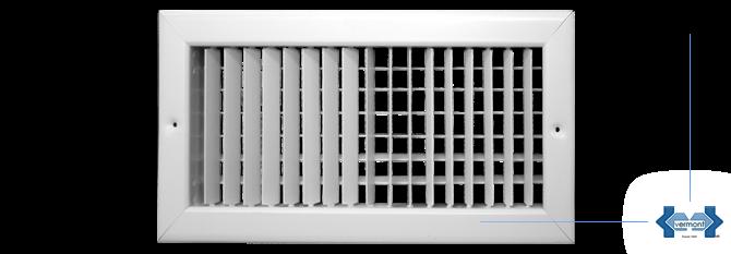 Aire acondicionado split vermont rejillas for Rejillas aire acondicionado regulables