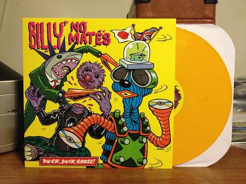 Billy No Mates - Duck Duck Goose LP - Yellow Vinyl by Tim PopKid