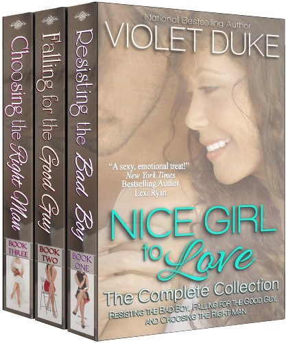 Nice Girl to Love: The Complete Three-Book Collection by Violet Duke
