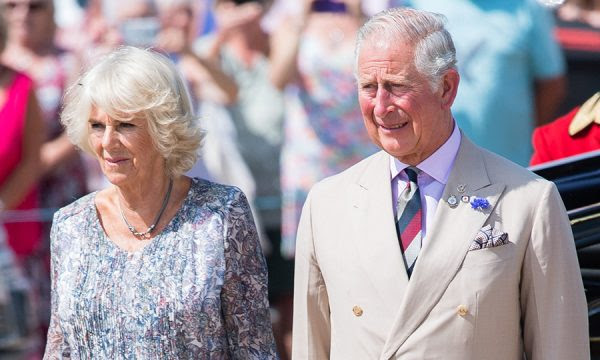 Prince Camilla and his wife
