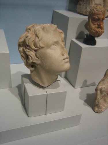 Male Head from a Relief, Roman period, 2nd century _ 1833