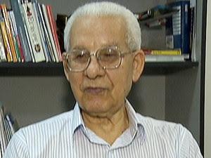 Ozílio Carlos da Silva tinha 78 anos e morreu por volta das 23h desta segunda-feira (10), em São José dos Campos.  (Foto: Reprodução/TV Vanguarda)