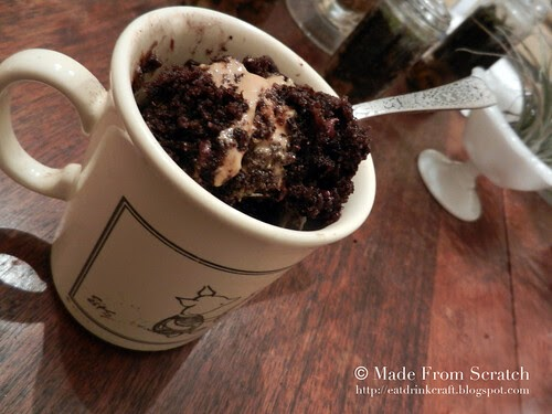 Made from Scratch: the best chocolate mug cake. no seriously.