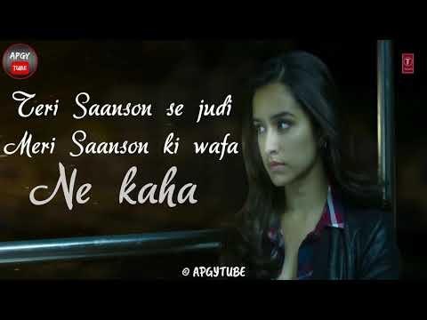 Agar Tu Hota Toh - Na Rote Hum , Baaghi , Tiger and Shraddha - Lyrical Status Video - Full HD