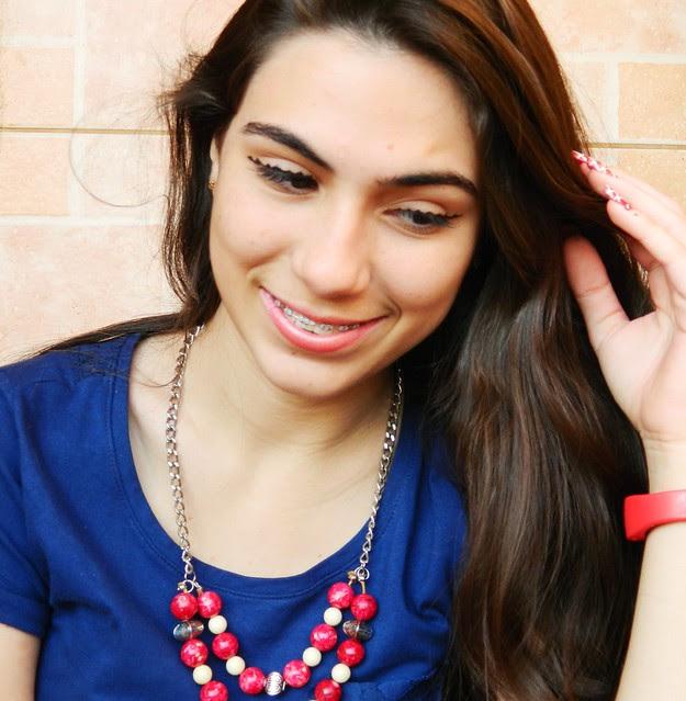 Juliana Leite delineado diferente cabelo colorido 021