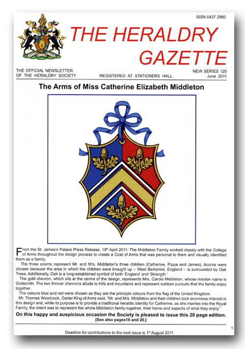 The Heraldry Gazette