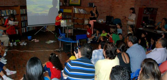 El Corazón Habla, en la Biblioteca Infantil y Juvenil del Centro Cultural de Cali