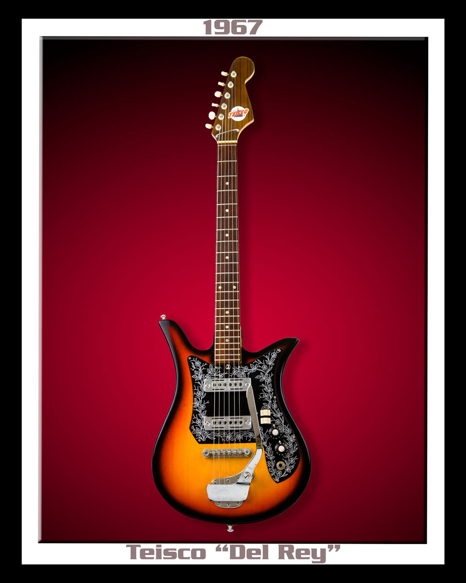 the unique guitar blog glen campbell 39 s teisco del ray guitar. Black Bedroom Furniture Sets. Home Design Ideas