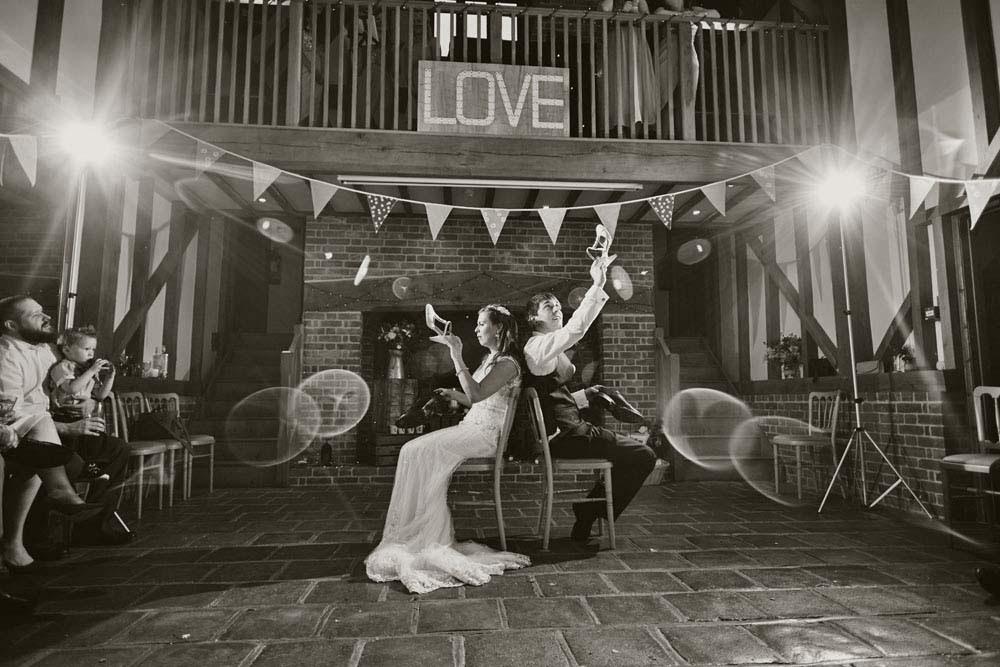 playing Mr & Mrs at wedding in Barrandov Opera, Needham Market, Suffolk - www.helloromance.co.uk