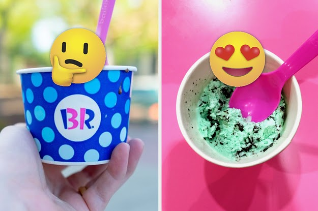 There Are 31 Baskin-Robbins Flavors, And We're Asking You To Choose 7