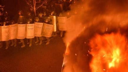 incendii Maidan Kiev