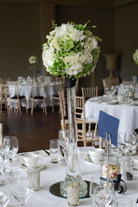 tall vases for wedding centerpieces   Wedding Reception
