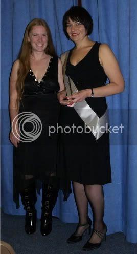 Becky & Andrea Slimmining World Miss Slinky 16 Nov 09