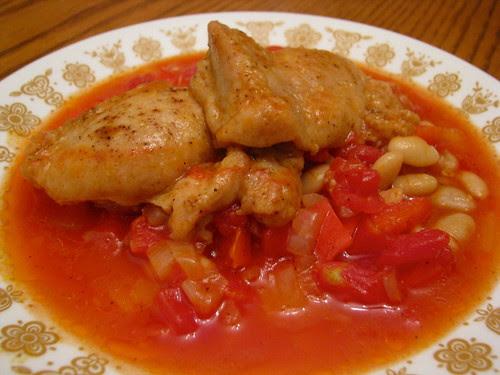 Chicken Chili Beans